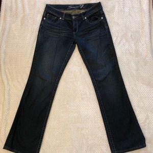 Seven7 woman's plus size straight tall leg jeans